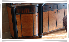 Custom Built Amenities. Cabinets ...